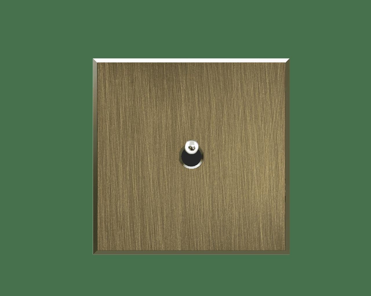 Interrupteur Matière Lumière finition Bronze clair