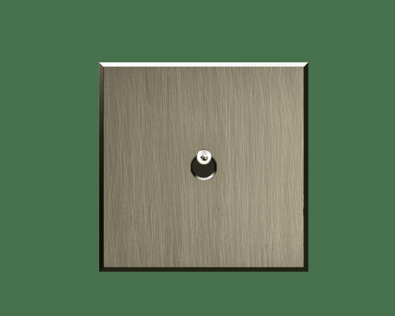 Interrupteur Matière Lumière finition cendre