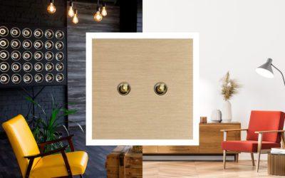 Les tendances de styles 2021 avec les interrupteurs de luxe Matière Lumière!